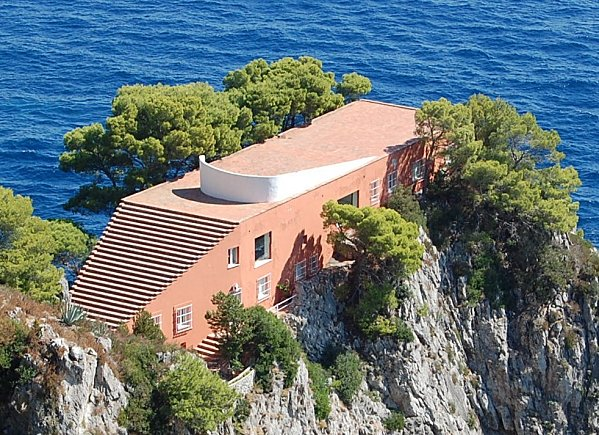 Villa Malaparte Studio William Hefner